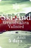 Ski Andorra 5 дней Взрослый
