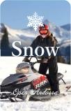Поездка на снегоходе